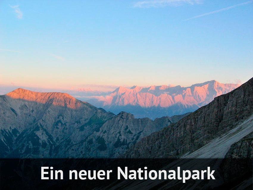 Ein neuer Nationalpark