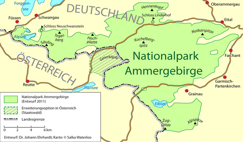 Nationalpark Ammergebirge