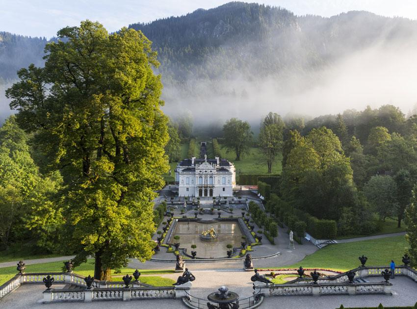 Schloss Linderhof Foto Iris Kürschner powerpress/ch